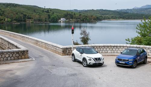 Nissan Juke 1.0 DIG-T 117 PS vs VW T-Roc 1.0 TSI 115 PS