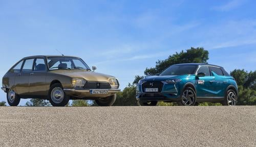 Citroen GS vs DS 3 Crossback